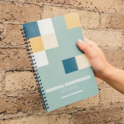 General Conference Journal - Modern general conference workbook, general conference printable, general conference journal, general conference study,
