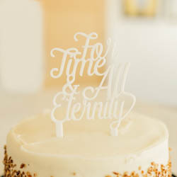 For Time & All Eternity Cake Topper lds wedding, lds cake topper, for time and all eternity cake topper,