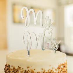 Mr. & Mrs. Cake Topper  lds wedding, lds cake topper, mr & mrs cake topper
