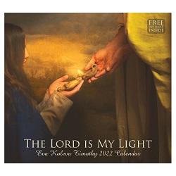 2022 Eva Koleva Timothy Calendar - The Lord Is My Light - AFA-ETCAL2022