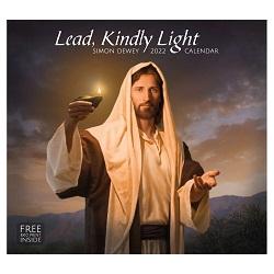 2022 Simon Dewey Calendar - Lead, Kindly Light simon dewey calendar, lds calendar,