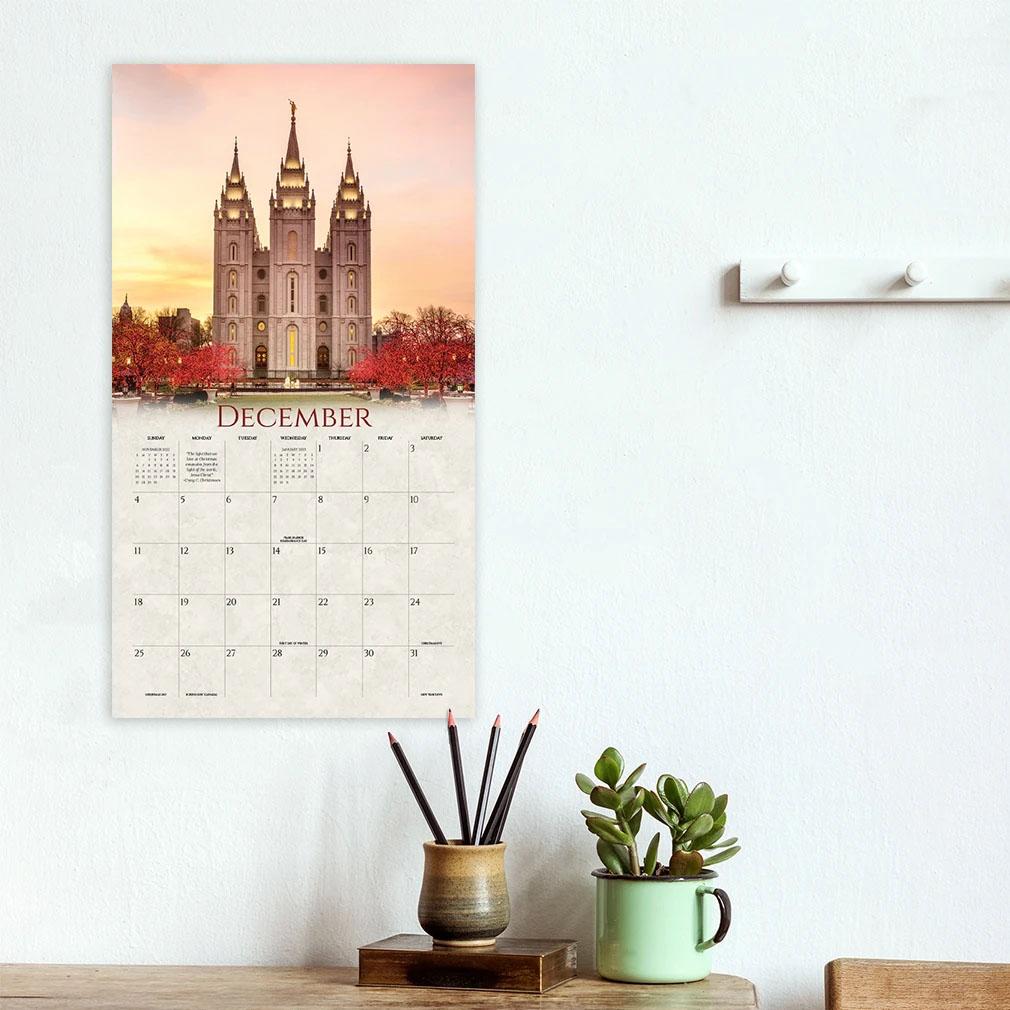 2022 Scott Jarvie Calendar - Between Heaven & Earth - AFA-SJCAL2022