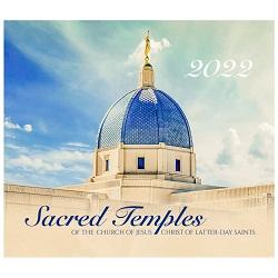 2022 Sacred Temples Calendar lds temple calendar, lds wall calendar, lds calendar, temple calendar,