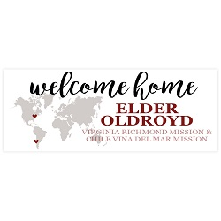 Two Mission Cute World Missionary Banner welcome home banner,two mission,two mission banner,missionary welcome home,missionary welcome home banner,missionary return,lds missionary,lds missionary homecoming,missionary welcome home,lds mission