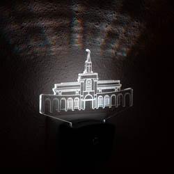 Bountiful Temple Night Light bountiful temple, bountiful temple decor, lds night lights, lds night light, bountiful temple desk light