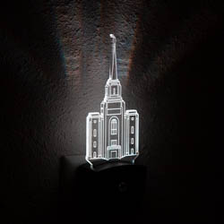 Brigham City Temple Night Light bountiful temple, bountiful temple decor, lds night lights, lds night light, bountiful temple desk light