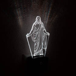 Christus Night Light christus temple cube, christus temple light, christus light, christus gift, christus desk light, lds night light, lds night light