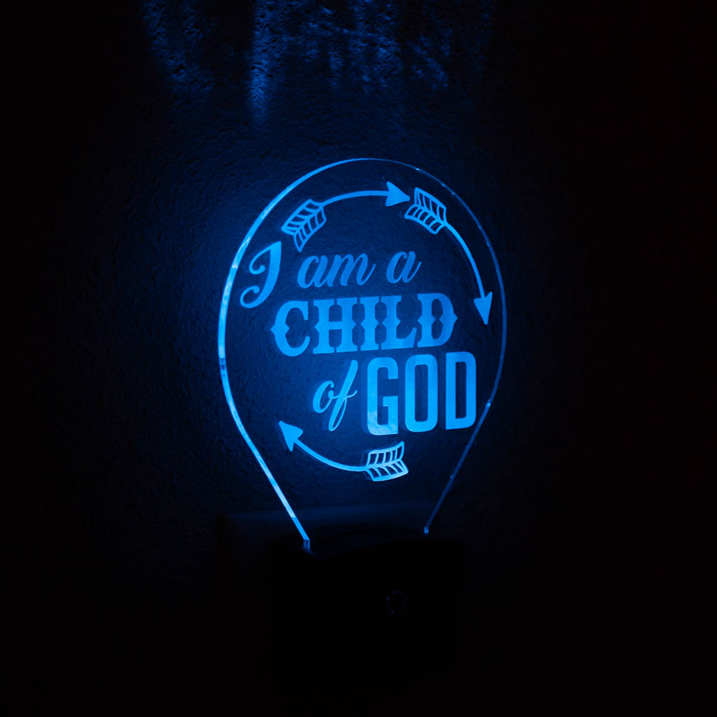 I Am A Child of God Night Light - LDP-NTL-IACOG