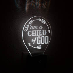 I Am A Child of God Night Light i am a child of god light, i am a child of god night light, lds night light, lds night light