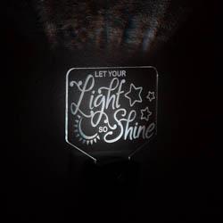 Let Your Light So Shine Night Light lds night light, lds scripture gift, lds night light