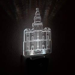 St. George Temple Night Light