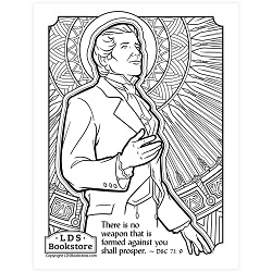 No Weapon Shall Prosper Coloring Page - Printable  - LDPD-PBL-COLOR-DOCTCOV71