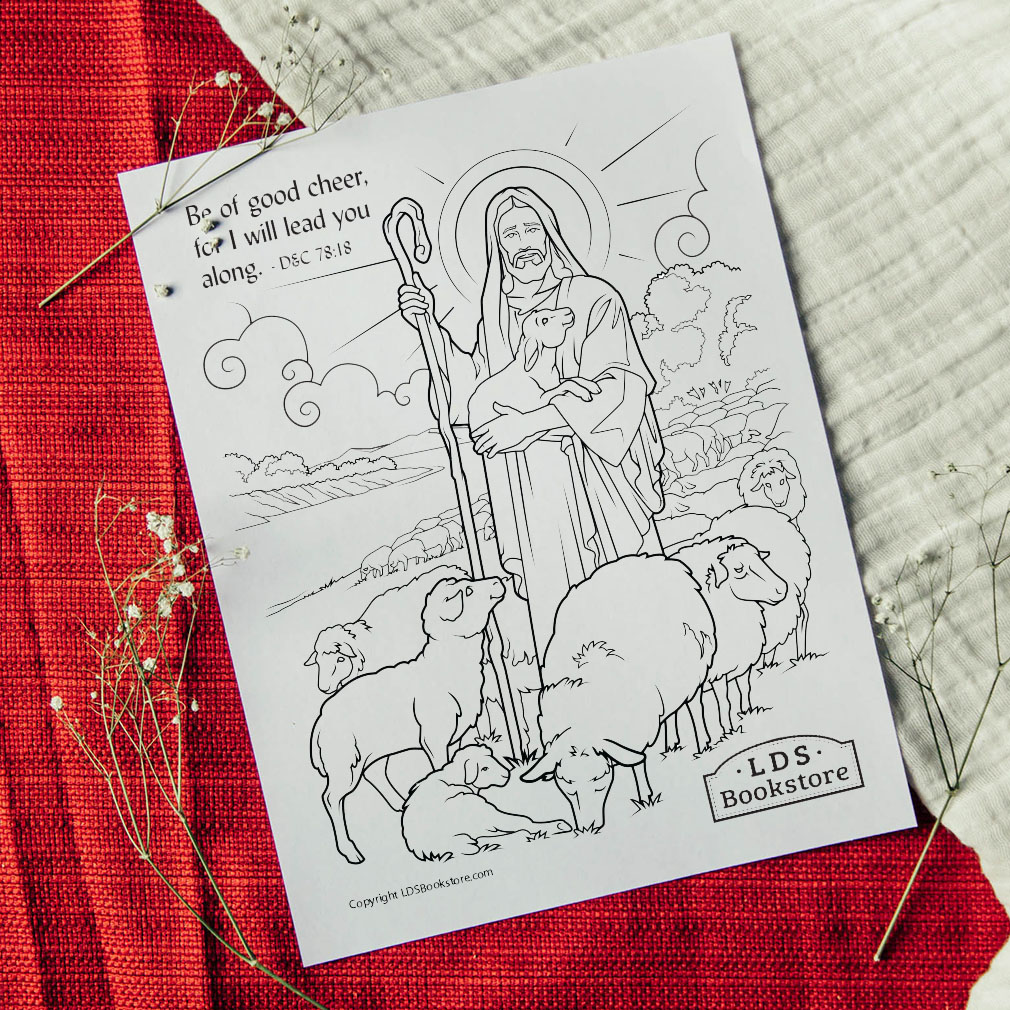 I Will Lead You Along Coloring Page - Printable - LDPD-PBL-COLOR-DOCTCOV78