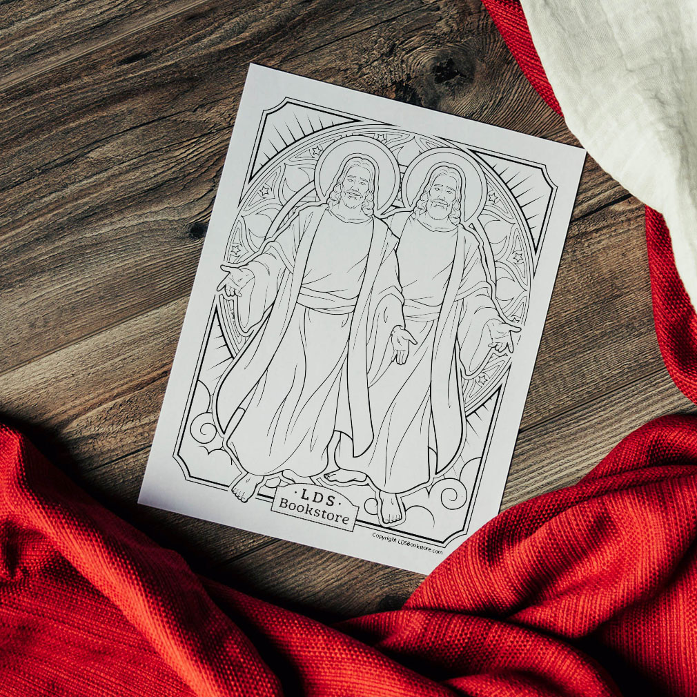 Receive of His Fulness Coloring Page - Printable - LDPD-PBL-COLOR-DOCTCOV93