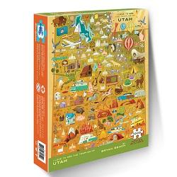 Utah Temple Map Puzzle lds temple puzzle, lds puzzles, utah temple puzzle