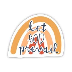 Let God Prevail Vinyl Sticker let god prevail sticker, lds scripture sticker, lds water bottle sticker, lds laptop sticker, lds vinyl stickers
