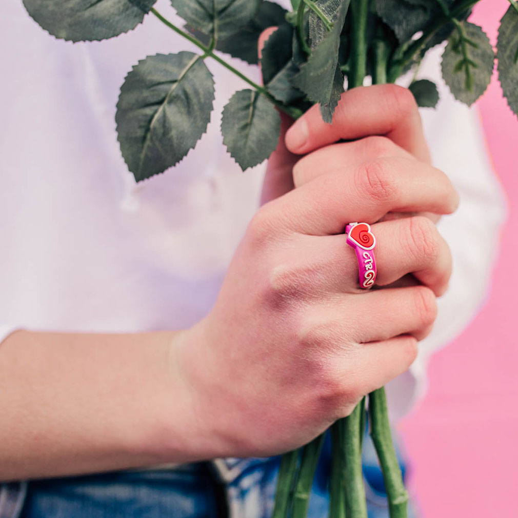 Adjustable Heart CTR Ring - RM-JRY262